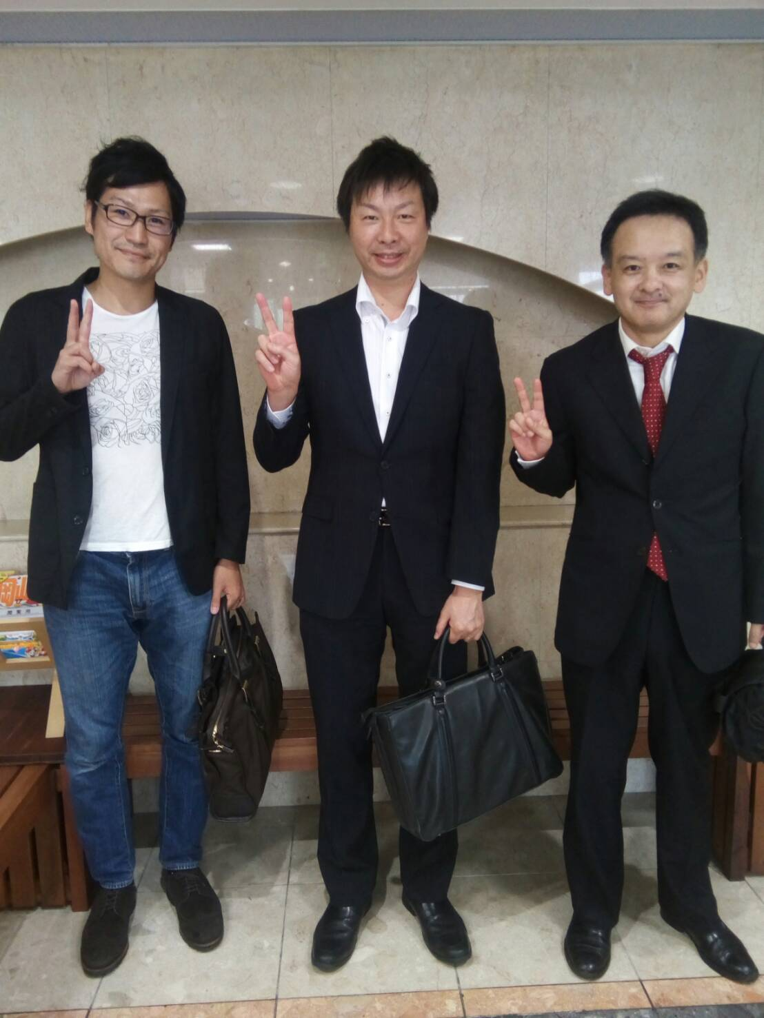 浜武先生と川島先生